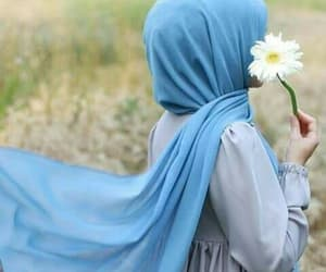 girl, hijab, and hijab fashion image