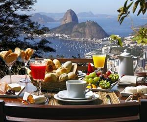 breakfast, brasil, and food image