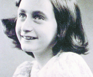 anne, frank, and holocaust image