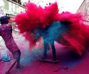 boy, colours, and india image