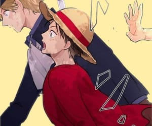 ace, sabo, and luffy image