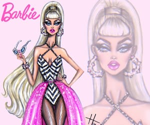 art, barbie, and bday image