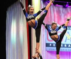 cheer, stunt, and flexibility image