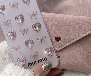 iphone, miumiu, and pink image