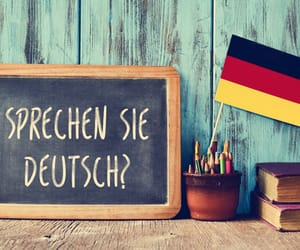 article, german, and vocabulary image