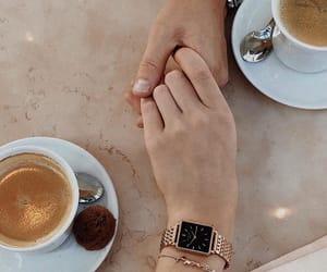 breakfast, coffee, and couple image