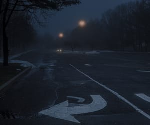 cold, lonely, and night image