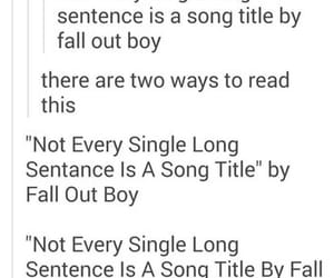 band, fall out boy, and FOB image