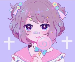anime, candy, and pastel image