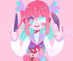 adorable, color, and heart image
