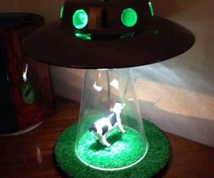 aliens, decoration, and grass image
