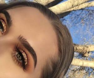 art, beautiful, and eye makeup image