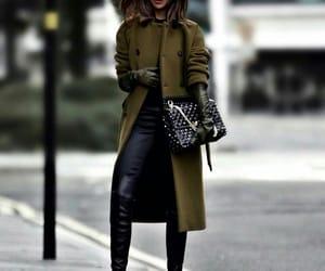 bag, fashionable, and street style image