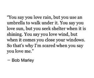 bob marley, rain, and quotes image