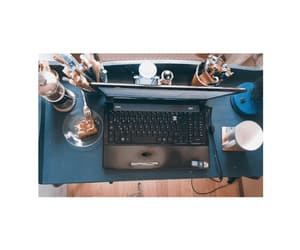 blue, coffee, and pay image
