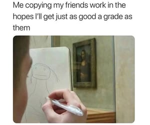 funny, grades, and life image