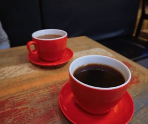cafe, caffeine, and coffee image