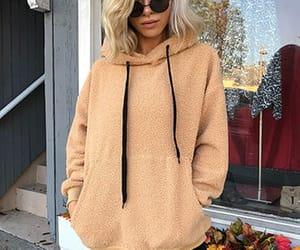 Hooded Faux Sweatshirt & Sunnies!