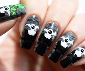 barry m, nails, and halloween nails image