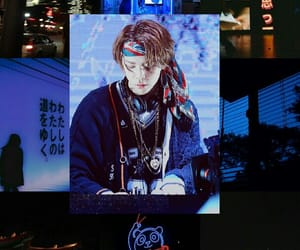 blue, nct 127, and Collage image