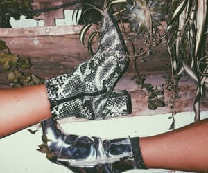art, boots, and chic image