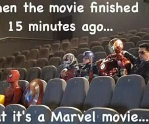 Marvel, meme, and mcu image