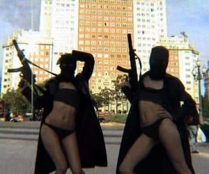 gun, black, and sexy image