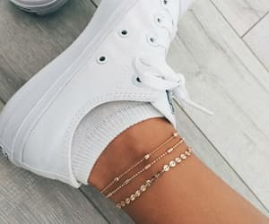 accessory, sneakers, and white image