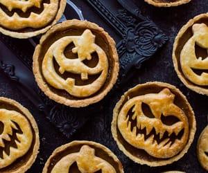 food, Halloween, and pumpkin image