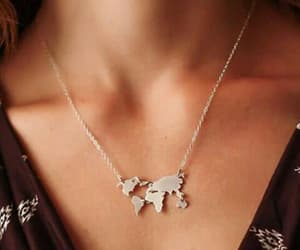 accessory, geography, and necklace image