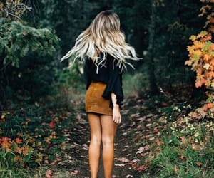 autumn, fashion, and hairs image