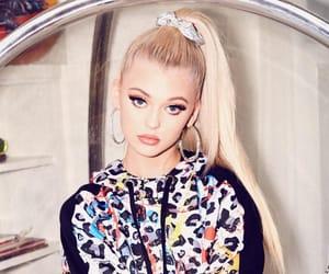 blonde, cutie, and eyelashes image