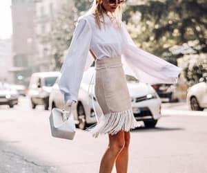 bags, dress, and fashion image