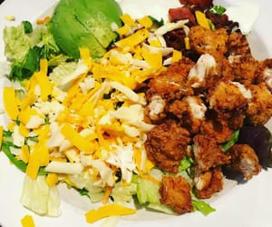 Chicken, foodie, and salad image