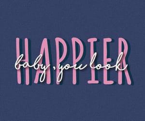 edit, happier, and Lyrics image