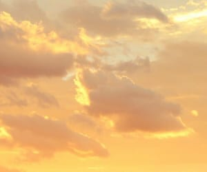 sky, clouds, and yellow image