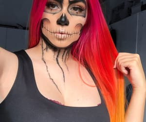 dyed, hair, and Halloween image