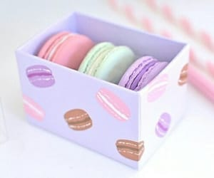 pastel, sweet, and food image