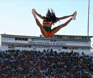 black women, cheer, and college image