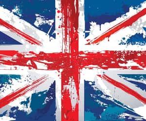 britain, british, and union jack image