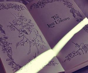 book, unicorn, and the last unicorn image