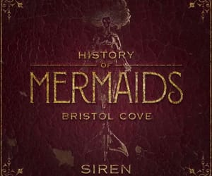 book, mermaids, and series image