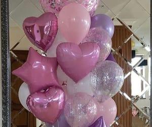 balloons, birthday, and happy image