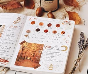 autumn, bujo, and candle image