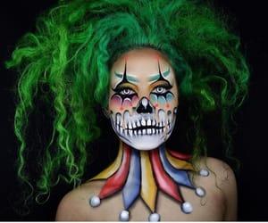 belleza, Halloween, and maquillaje image