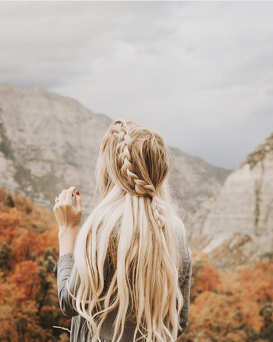 autumn, hair, and inspo image