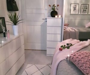 decor, beauty, and bedroom image