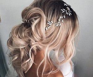 gorgeous, hair, and bridal hair image