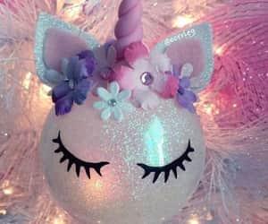unicorn and christmas image