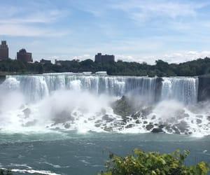 canada, summer, and niagra falls image